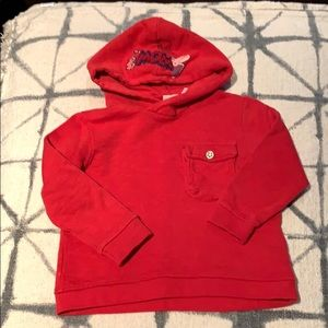 Zara red sweatshirt SZ 18-24 mons.